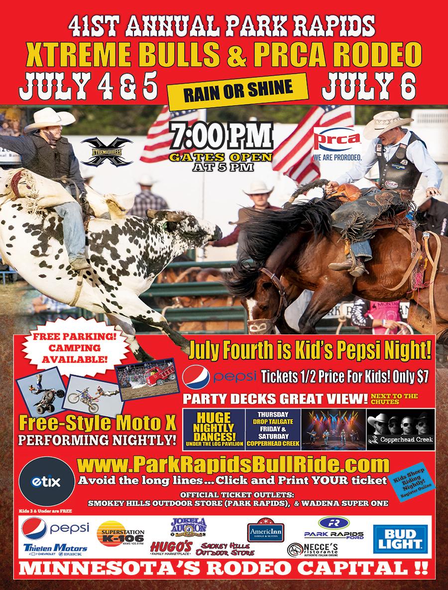 Park Rapids Bull Ride
